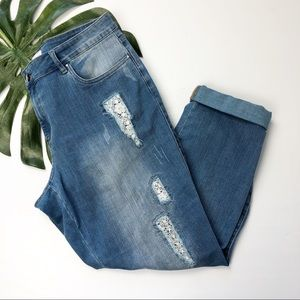 Rafaella Crop Jeans